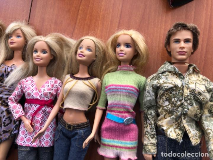 Barbie y Ken: Lote de muñecas Barbie y muñeco Ken - Foto 19 - 202650881