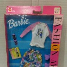 Barbie y Ken: BARBIE FASHION AVENUE. NUEVO EN CAJA. MATTEL. REF 25701. 2002. CONJUNTO.. Lote 203526988