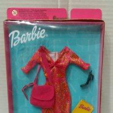 Barbie y Ken: BARBIE FASHION AVENUE. NUEVO EN CAJA. CONJUNTO REF 25702. MATTEL. 2001. VESTIDO.. Lote 203730301