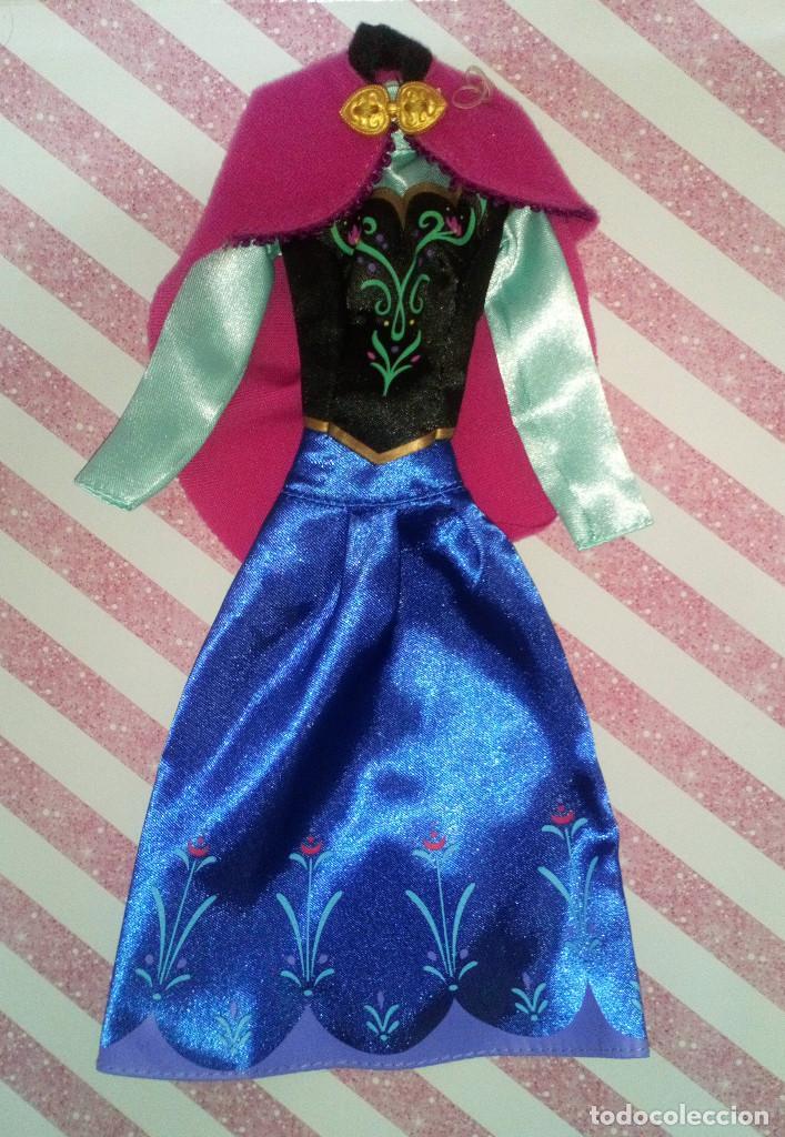 PRECIOSO VESTIDO DE LA PRINCESA ANNA DE FROZEN - DISNEY STORE (Juguetes - Muñeca Extranjera Moderna - Barbie y Ken - Vestidos y Accesorios)