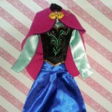 Barbie y Ken: PRECIOSO VESTIDO DE LA PRINCESA ANNA DE FROZEN - DISNEY STORE. Lote 204230565