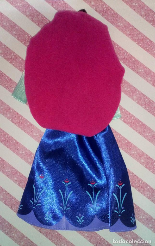 Barbie y Ken: PRECIOSO VESTIDO DE LA PRINCESA ANNA DE FROZEN - DISNEY STORE - Foto 2 - 204230565