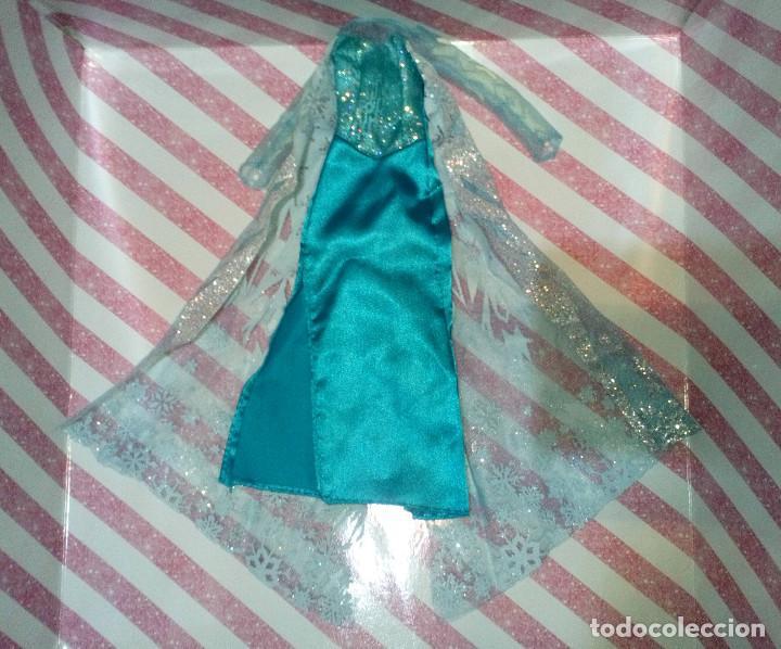 PRECIOSO VESTIDO DE LA PRINCESA ELSA DE FROZEN - DISNEY STORE (Juguetes - Muñeca Extranjera Moderna - Barbie y Ken - Vestidos y Accesorios)
