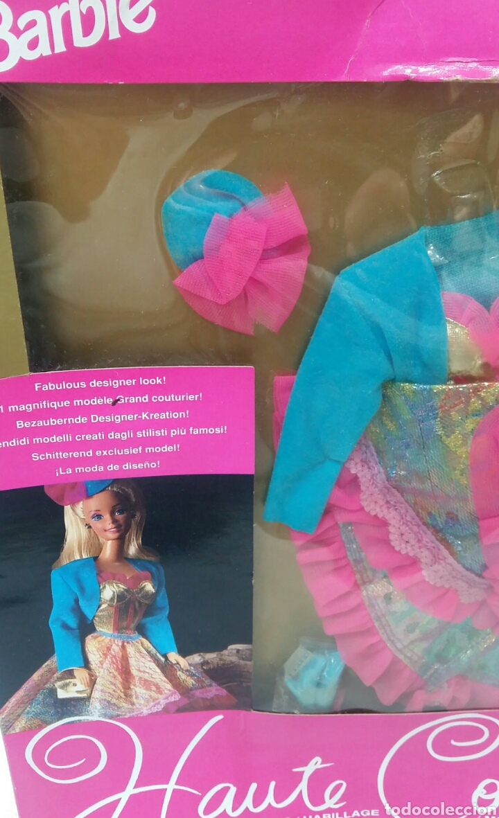 Barbie y Ken: BARBIE HAUTE COUTURE. VESTIDO NUEVO EN CAJA. MATTEL. REF 3854. 1992. CONJUNTO ALTA COSTURA. COLGANTE - Foto 2 - 205825070