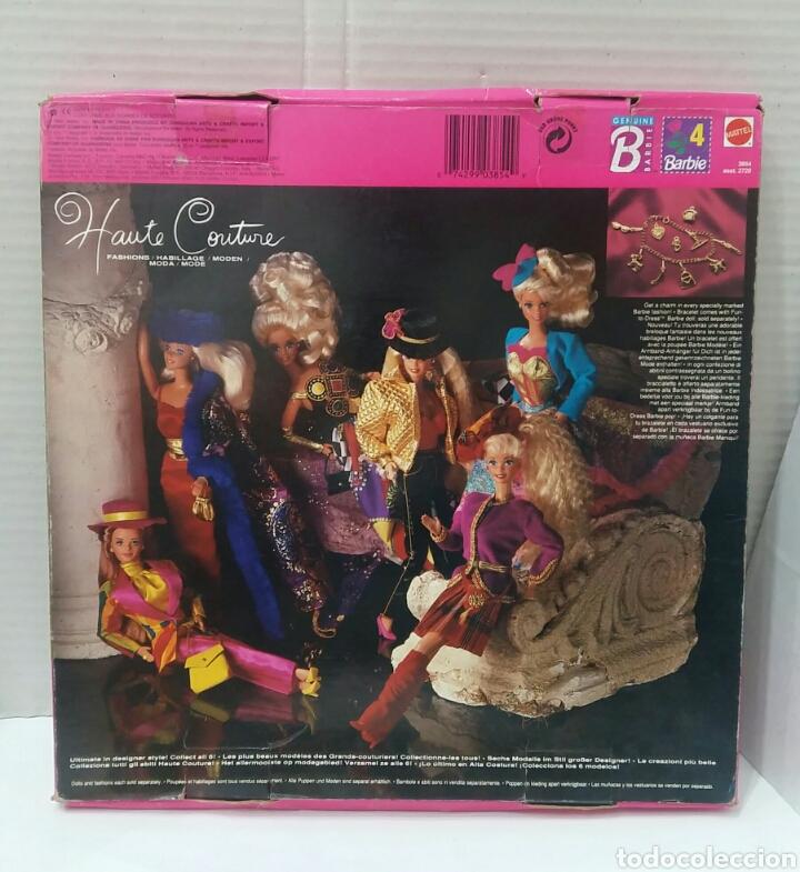Barbie y Ken: BARBIE HAUTE COUTURE. VESTIDO NUEVO EN CAJA. MATTEL. REF 3854. 1992. CONJUNTO ALTA COSTURA. COLGANTE - Foto 4 - 205825070