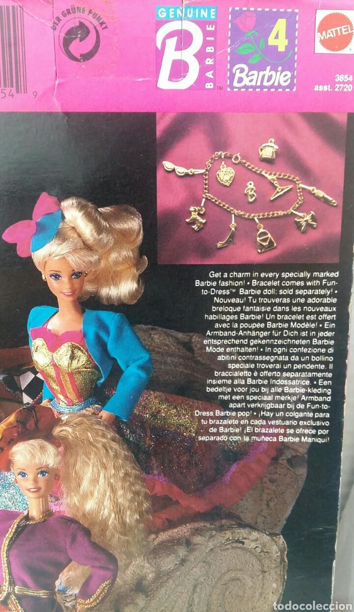 Barbie y Ken: BARBIE HAUTE COUTURE. VESTIDO NUEVO EN CAJA. MATTEL. REF 3854. 1992. CONJUNTO ALTA COSTURA. COLGANTE - Foto 5 - 205825070