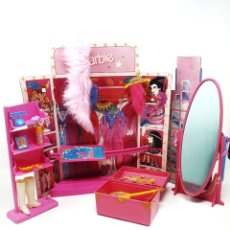 Barbie y Ken: CAMERINO DE BARBIE SUPERSTAR 80S. Lote 205829660