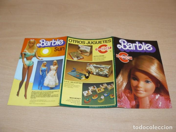 Barbie y Ken: 16- Catalogo Folleto Muñeca BARBIE de CONGOST + otros JUGUETES Luis Congost año 1979 Made in Spain - Foto 4 - 205859908