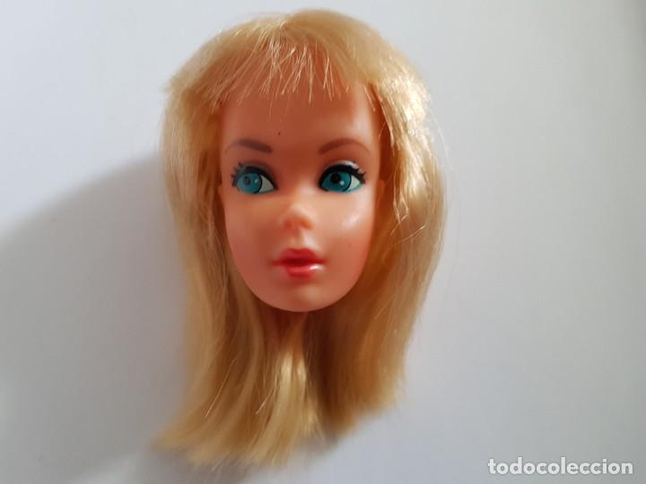 CABEZA BARBIE VINTAGE 1976 (Juguetes - Muñeca Extranjera Moderna - Barbie y Ken - Vestidos y Accesorios)