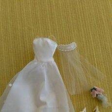 Barbie y Ken: VESTIDO DE NOVIA BARBIE. Lote 209008308