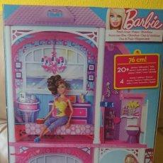 Barbie y Ken: BARBIE GLAM CASA DE VACACIONES AÑO 2011 SIN ESTRENAR. Lote 209141981