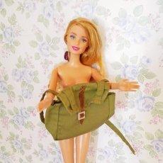 Barbie y Ken: MINI MOCHILA VERDE MILITAR MUÑECA BARBIE O MUÑECO TAMAÑO KEN GEYPERMAN MY SCENE ROPA MUÑECAS. Lote 210459112