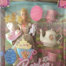 Barbie y Ken: MUÑECA BARBIE PRINCESS TEA PARTY. A ESTRENAR.. Lote 210555866
