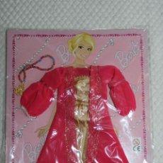 Barbie y Ken: NUEVO VESTIDO DE MUÑECA BARBIE EN BLISTER + REVISTA DE LA COLECCIÓN VESTIDO DO MUNDO. Lote 211422281