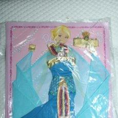Barbie y Ken: NUEVO VESTIDO DE MUÑECA BARBIE EN BLISTER + REVISTA DE LA COLECCIÓN VESTIDO DO MUNDO. Lote 211422374