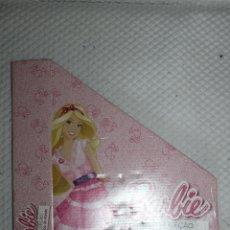 Barbie y Ken: CAJA CARTÓN PARA REVISTAS VESTIDOS DEL MUNDO BARBIE NUEVO. Lote 211422932