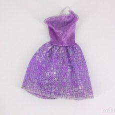 Barbie y Ken: VESTIDO MORADO ORIGINAL BARBIE - MATTEL. Lote 211443504
