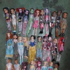 Barbie y Ken: LOTE MUÑECAS BARBIE,MONSTER HIGH Y SIMILARES. Lote 211464171