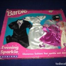 Barbie y Ken: CONJUNTO BARBIE KENT EVENING SPARKLE FASHIONS MATTEL 1995 NUEVO BLISTER. Lote 212151908