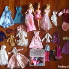 Barbie y Ken: BARBIE MATTEL GRAN LOTE MUÑECAS VESTIDOS NOVIA FASHION GALA KIMONO COMPLEMENTOS ZAPATOS OPORTUNIDAD. Lote 215745850