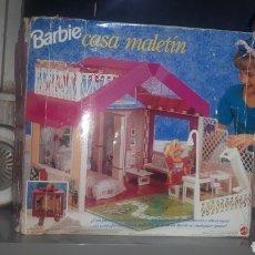 Barbie y Ken: BARBIE CASA MALETIN MATTEL 1992 INCOMPLETA LEER DESCRIPCIÓN. Lote 218633238