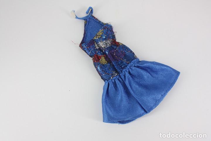 Barbie y Ken: Vestido color azul sin marca válido para Barbie o similar - Foto 2 - 219138162