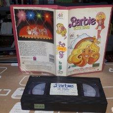 Barbie y Ken: PELÍCULA VHS BARBIE Y LOS ROCK STARS 1987 LEER DESCRIPCIÓN. Lote 220517563