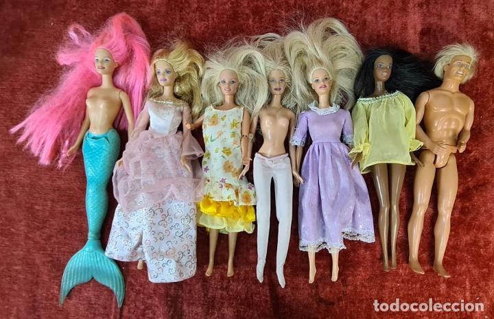 Barbie y Ken: COLECCION DE BARBIE. 6 MUÑECAS Y KENT. INFINIDAD DE ACCESORIOS. MATTEL. AÑOS 90. - Foto 14 - 221074396