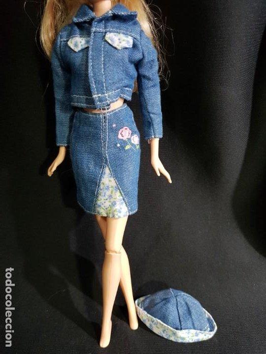 CONJUNTO CHAQUETA,FALDA Y GORRO VALIDO BARBIE MY SCENE (Juguetes - Muñeca Extranjera Moderna - Barbie y Ken - Vestidos y Accesorios)