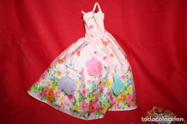 VESTIDO ORIGINAL MUÑECA BARBIE (Juguetes - Muñeca Extranjera Moderna - Barbie y Ken - Vestidos y Accesorios)