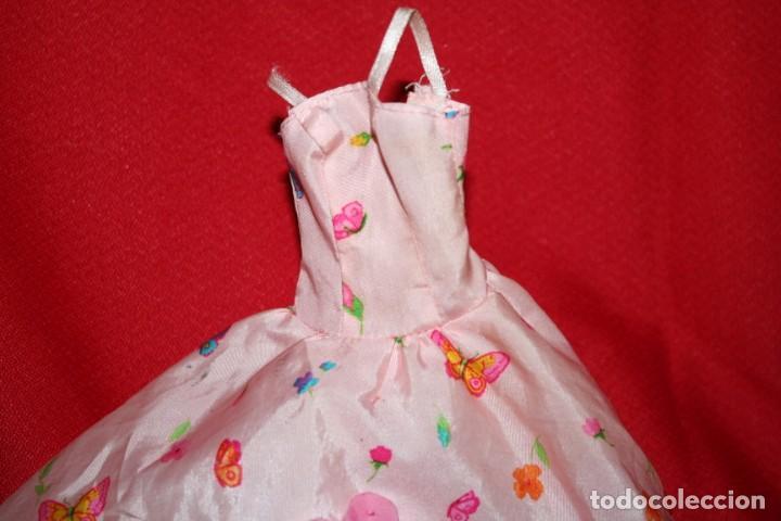 Barbie y Ken: vestido original muñeca barbie - Foto 2 - 221896822