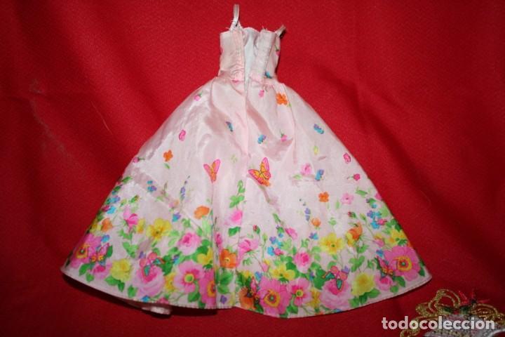 Barbie y Ken: vestido original muñeca barbie - Foto 3 - 221896822