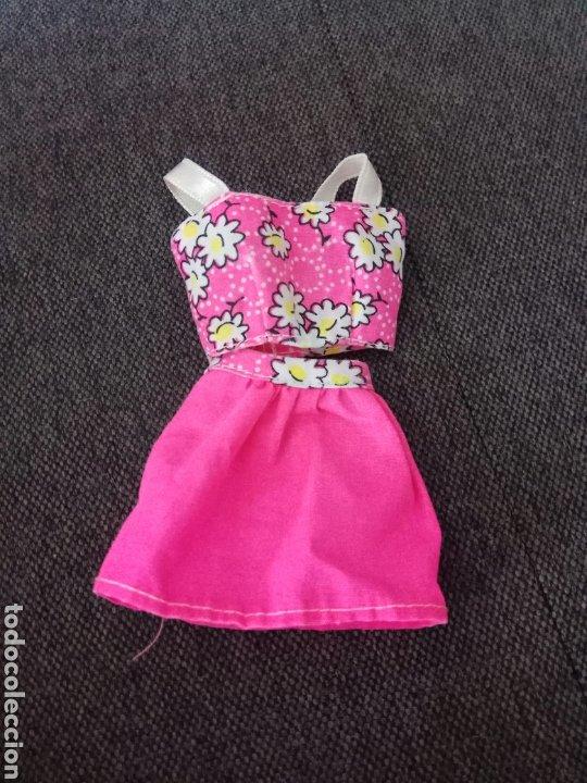 VESTIDO MUÑECA MANIQUÍ BARBIE SINDY NANCY MODEL (Juguetes - Muñeca Extranjera Moderna - Barbie y Ken - Vestidos y Accesorios)