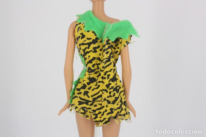 Barbie y Ken: Vestido / disfraz de cavernícola sin marca válido para muñeca Barbie o similar - Foto 2 - 222088697