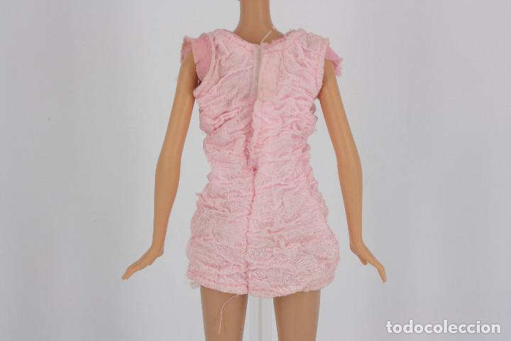 Barbie y Ken: Vestido color rosa palo sin marca válido para muñeca Barbie o similar - Foto 2 - 222089065