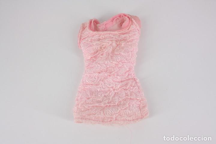 Barbie y Ken: Vestido color rosa palo sin marca válido para muñeca Barbie o similar - Foto 3 - 222089065