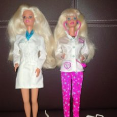 Barbie y Ken: BARBIES DENTISTA Y VETERINARIA. Lote 222792236