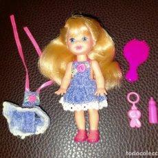 Barbie y Ken: MUÑECA SHELLY KELLY. Lote 222849497