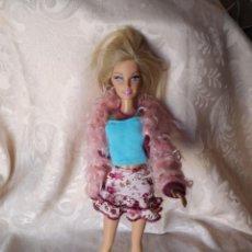 Barbie y Ken: CONJUNTO HIPY CON BARBIE CON DEFECTO(PELO CORTADO ) LO DEMAS ESTA BIEN. Lote 224132596