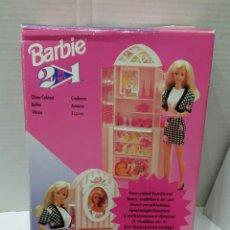 Barbie y Ken: BARBIE 2 EN 1. CHIMENEA Y ARMARIO. NUEVO EN CAJA. SIN ESTRENAR. FUNCIONA. MATTEL. REF 11429. 1994.. Lote 224664523
