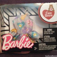 Barbie e Ken: BLISTER ORIGINAL ROPA MUÑECA BARBIE PRECINTADO. SERIE OSOS AMOROSOS. CAMISETA CON VOLANTE OSITOS. Lote 236903860