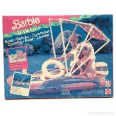 Barbie y Ken: BARBIE HAWAII LANCHA MATELL. Lote 230080615
