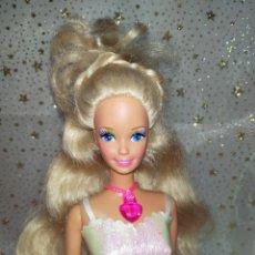 Barbie y Ken: COLLAR BARBIE CORAZÓN FUCSIA. Lote 230864940