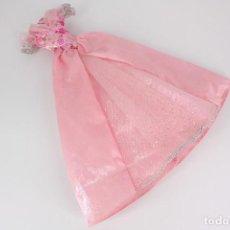 Barbie y Ken: VESTIDO ESTILO PRINCESA COLOR ROSA ORIGINAL BARBIE - MATTEL. Lote 231260885