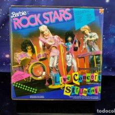 Barbie y Ken: BARBIE ROCK STARS LIVE CONCERT STRUMENTI - 1986 - ESPECTACULAR - NUNCA ABIERTO - SUPERSTAR. Lote 231417055