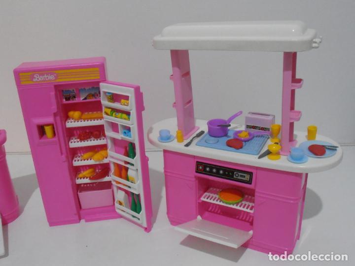 Barbie y Ken: BARBIE CONJUNTO DE COCINA, CAJA ORIGINAL, CASI COMPLETA, MATTEL AÑOS 80, MUY BUEN ESTADO - Foto 4 - 232796740