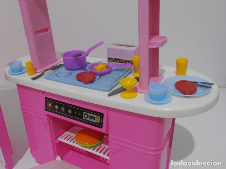 Barbie y Ken: BARBIE CONJUNTO DE COCINA, CAJA ORIGINAL, CASI COMPLETA, MATTEL AÑOS 80, MUY BUEN ESTADO - Foto 5 - 232796740