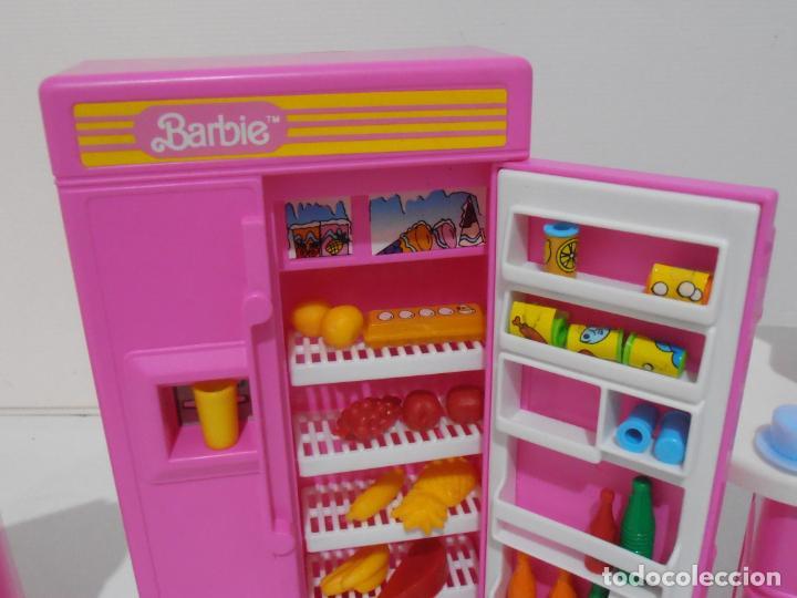 Barbie y Ken: BARBIE CONJUNTO DE COCINA, CAJA ORIGINAL, CASI COMPLETA, MATTEL AÑOS 80, MUY BUEN ESTADO - Foto 6 - 232796740