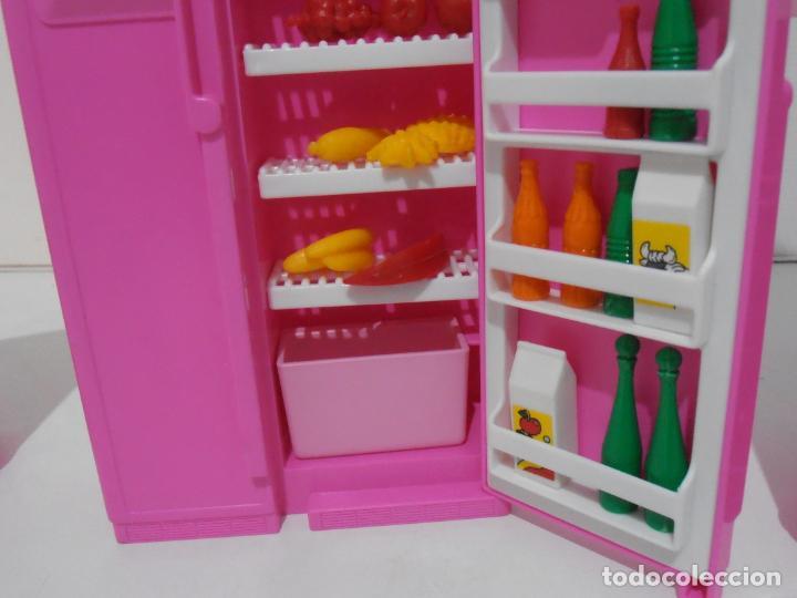 Barbie y Ken: BARBIE CONJUNTO DE COCINA, CAJA ORIGINAL, CASI COMPLETA, MATTEL AÑOS 80, MUY BUEN ESTADO - Foto 7 - 232796740