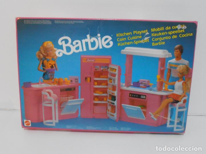 Barbie y Ken: BARBIE CONJUNTO DE COCINA, CAJA ORIGINAL, CASI COMPLETA, MATTEL AÑOS 80, MUY BUEN ESTADO - Foto 9 - 232796740
